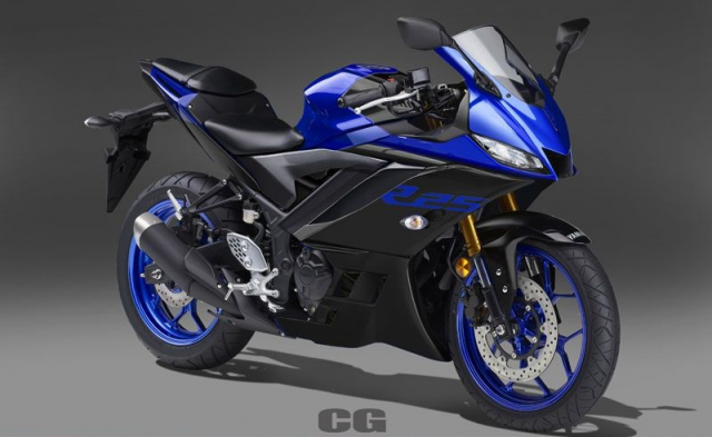 Lo anh Yamaha R25 2019 voi 5 sac mau moi dam chat the thao - 5