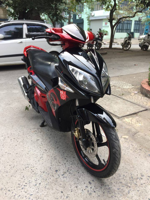 Rao ban xe Yamaha Nouvolx 135 Limited do den rat moi may chay cuc phe - 3