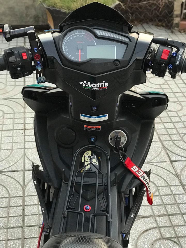 Exciter 150 do an tuong voi dan chan Brembo chat den tung luong - 4