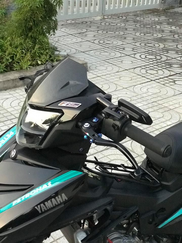 Exciter 150 do an tuong voi dan chan Brembo chat den tung luong - 6