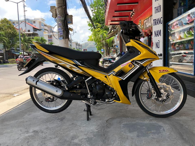 Exciter 2010 do he thong phanh Brembo sieu dinh gay them khat nguoi xem - 9