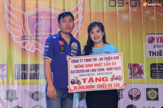 Nhin lai chang duong 3 nam hoat dong cua Club Exciter ACE Long Thanh Nhon Trach - 41