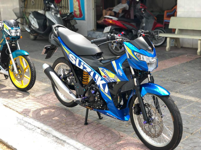 Satria 150 do long lay hon voi dan ghi dong chuc trieu - 5