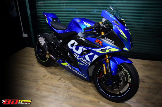 Suzuki GSXR1000 chan dung ban do chat choi den tu BD Speed Racing - 3
