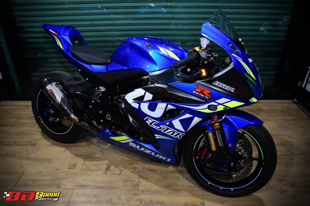 Suzuki GSXR1000 chan dung ban do chat choi den tu BD Speed Racing - 7