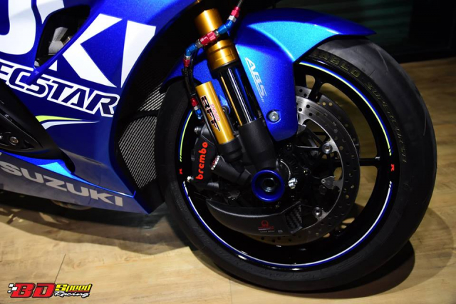 Suzuki GSXR1000 chan dung ban do chat choi den tu BD Speed Racing - 9