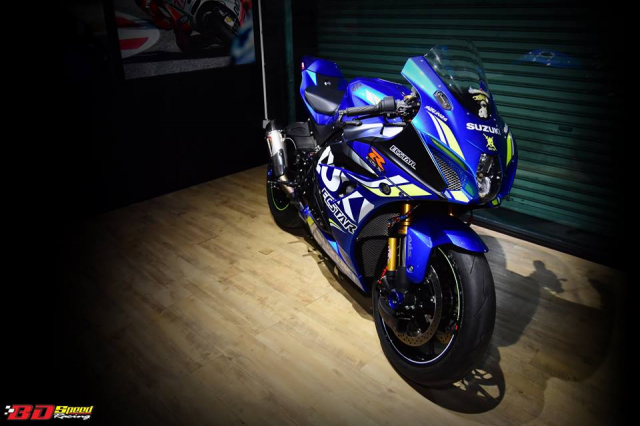 Suzuki GSXR1000 chan dung ban do chat choi den tu BD Speed Racing - 19
