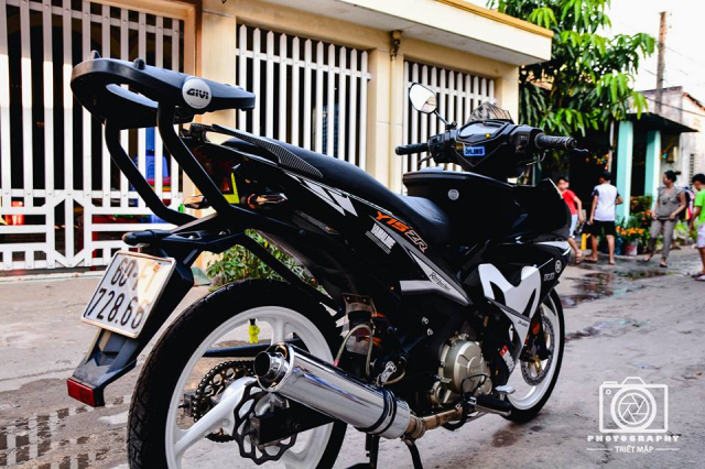 Exciter 150 do cuc chat mo phong phong cach choi xe Malaysia - 7