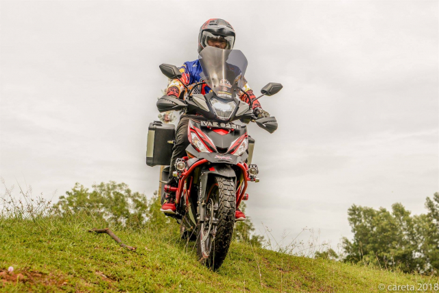Can canh Winner 150 do phong cach Adventure kich doc - 10