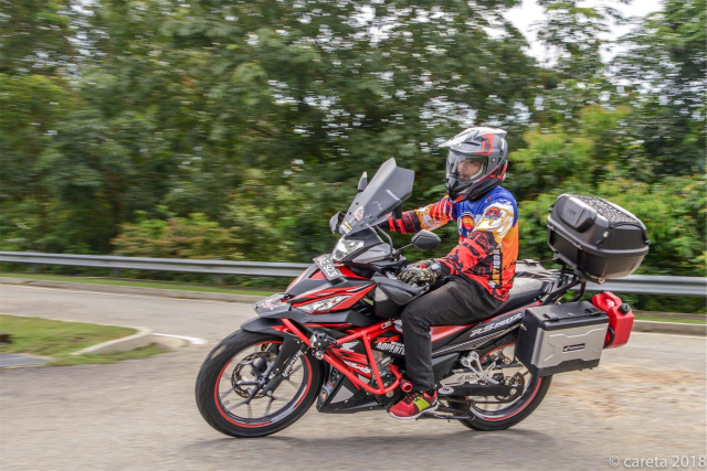Can canh Winner 150 do phong cach Adventure kich doc - 11