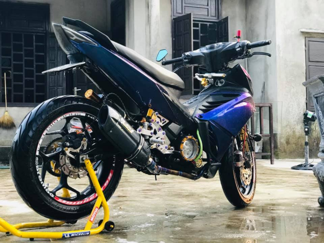 Exciter 135 do day co bap voi dan chan khong lo cuop tu PKL - 5