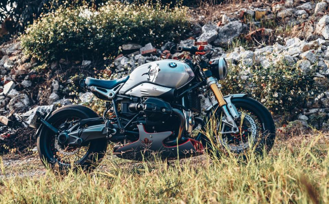 BMW RnineT do chat choi mang dam thiet ke Cafe Racer tan thoi - 13