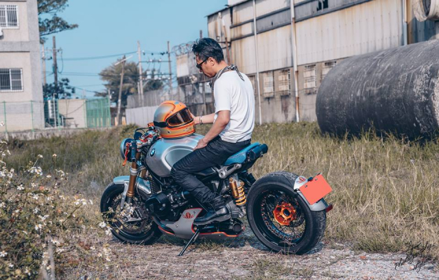 BMW RnineT do chat choi mang dam thiet ke Cafe Racer tan thoi - 17