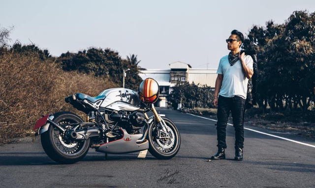 BMW RnineT do chat choi mang dam thiet ke Cafe Racer tan thoi - 23