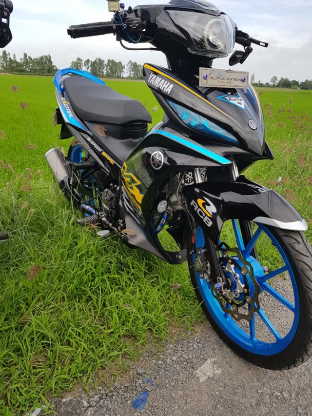 Exciter 135 do full option voi nhieu diem nhan vo cung chat luong - 3