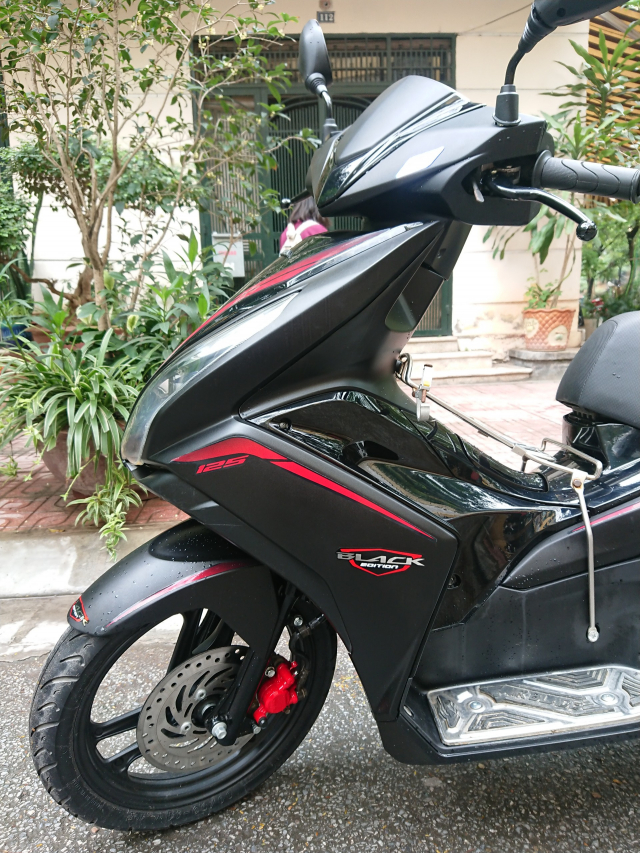 Honda Air blade 125fi Black Edition 2015 den mo chinh chu bien HN - 4