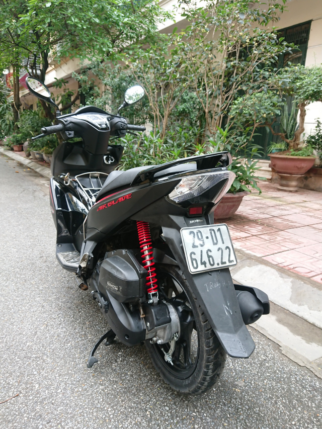 Honda Air blade 125fi Black Edition 2015 den mo chinh chu bien HN - 5