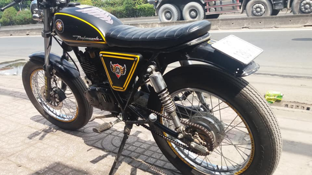 Moto gn125 up tracker - 3