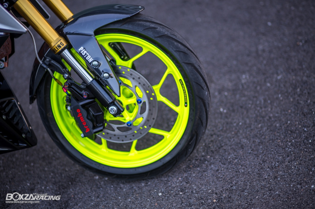 Yamaha MSlaz 150 do chat lu voi he thong phanh Brembo - 9