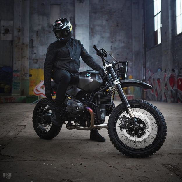 BMW RnineT do an tuong theo phong cach Scrambler voi dac danh THOR - 4