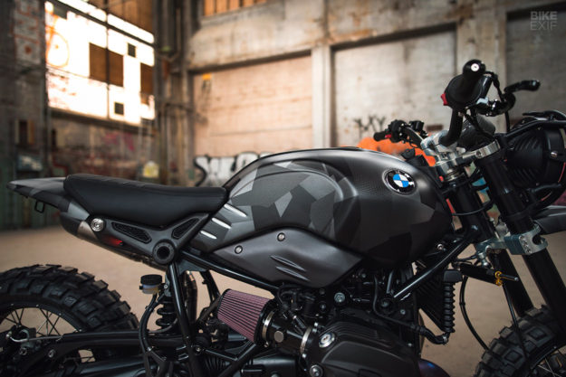 BMW RnineT do an tuong theo phong cach Scrambler voi dac danh THOR - 6