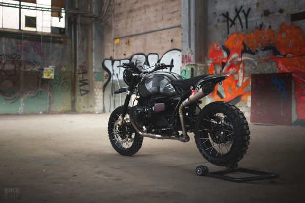 BMW RnineT do an tuong theo phong cach Scrambler voi dac danh THOR - 12