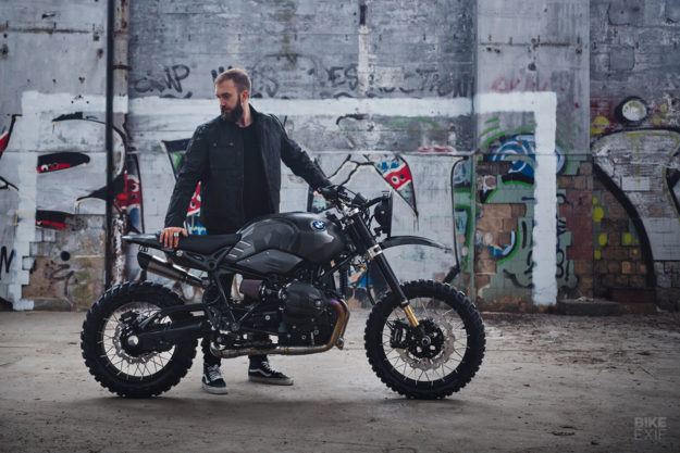BMW RnineT do an tuong theo phong cach Scrambler voi dac danh THOR - 14
