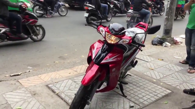 Chuyen thanh ly dong xe yaz 125cc gia re - 3