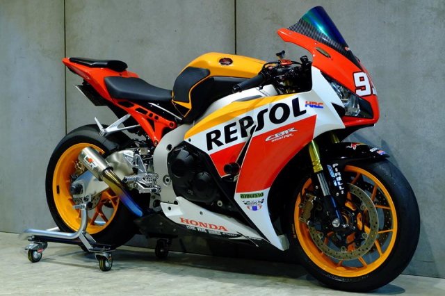Honda CBR1000RR do day loi cuon trong dien mao Repsol Racing - 3
