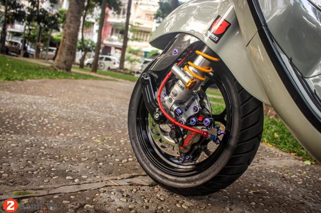 Vespa Sprint do lot xac voi dan option bac trieu - 6
