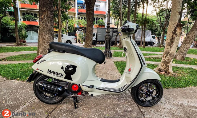 Vespa Sprint do lot xac voi dan option bac trieu - 10