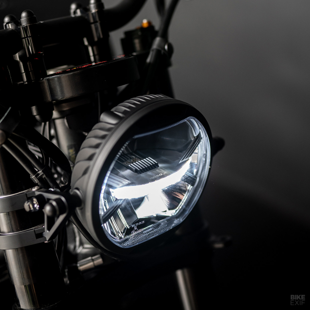 Yamaha XSR700 do Tuy chinh dac biet den tu IRONWOOD MOTOR MOTORCYCLE - 9