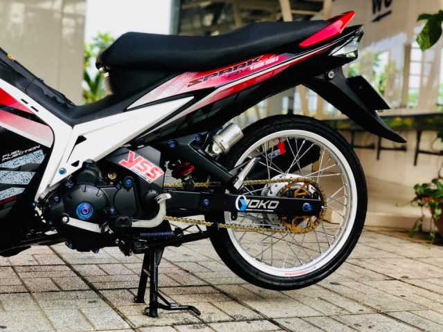 Exciter 135 do voi loat nang cap vo cung an tuong va chat luong - 8