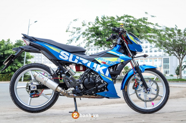 Dung hinh voi Raider 150 do chat den ngat trong tung chi tiet - 19
