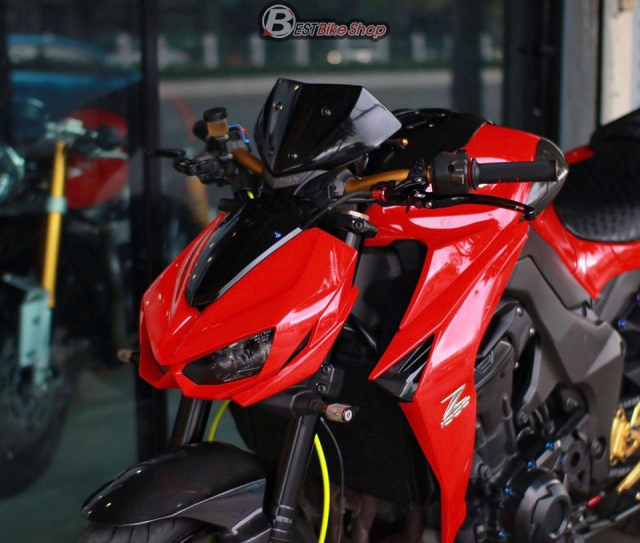 Kawasaki Z1000 do an tuong voi phong cach Do Sporty - 3