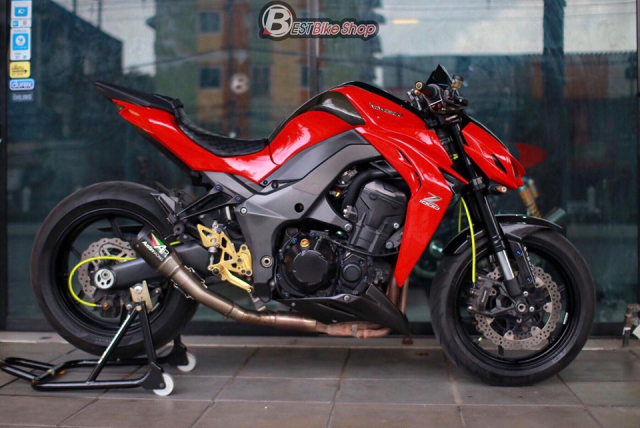 Kawasaki Z1000 do an tuong voi phong cach Do Sporty - 13