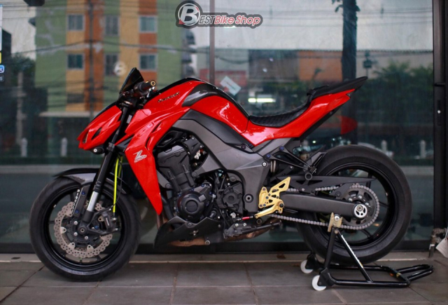 Kawasaki Z1000 do an tuong voi phong cach Do Sporty - 15