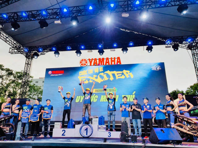 Lo dien chu nhan may man nhan duoc YZFR3 trong cuoc thi do xe Exciter Fest 2019 - 4