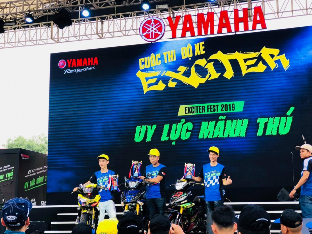 Lo dien chu nhan may man nhan duoc YZFR3 trong cuoc thi do xe Exciter Fest 2019 - 8