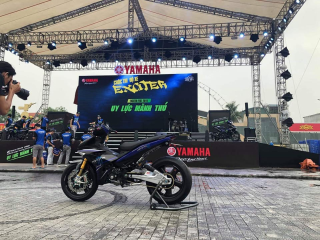 Lo dien chu nhan may man nhan duoc YZFR3 trong cuoc thi do xe Exciter Fest 2019 - 9