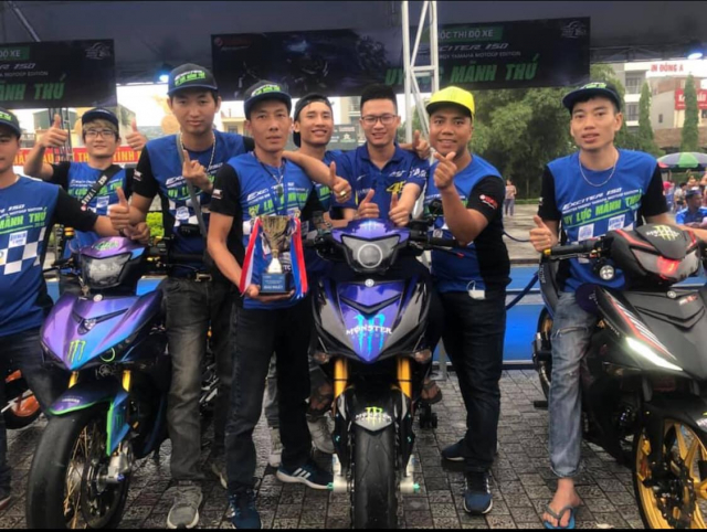 Lo dien chu nhan may man nhan duoc YZFR3 trong cuoc thi do xe Exciter Fest 2019 - 11
