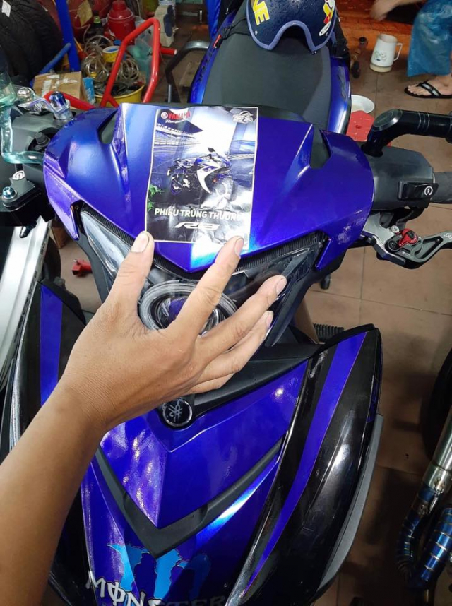 Lo dien chu nhan may man nhan duoc YZFR3 trong cuoc thi do xe Exciter Fest 2019 - 12