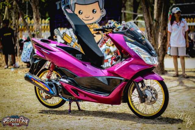 PCX 150 do chu bao hong so huu doi chan bao luc cuc ki khiep - 8