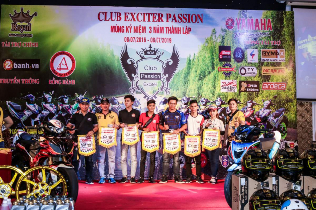 Club Exciter Passion 3 nam mot chang duong voi dong xe Yamaha Exciter - 24