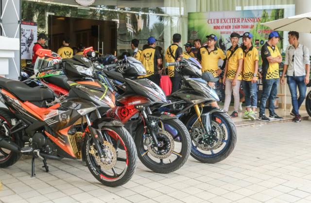 Club Exciter Passion 3 nam mot chang duong voi dong xe Yamaha Exciter - 5
