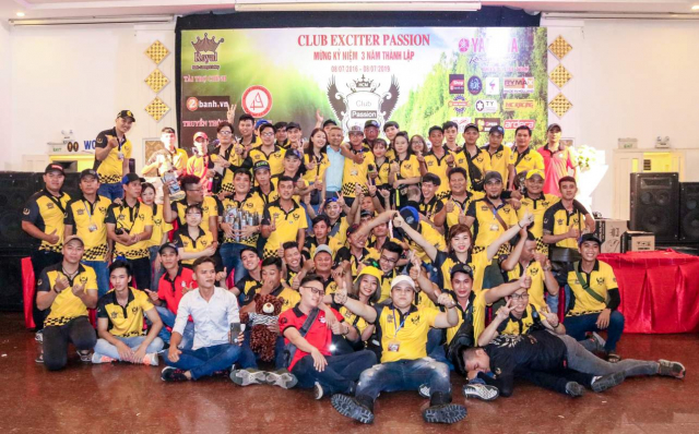 Club Exciter Passion 3 nam mot chang duong voi dong xe Yamaha Exciter - 16