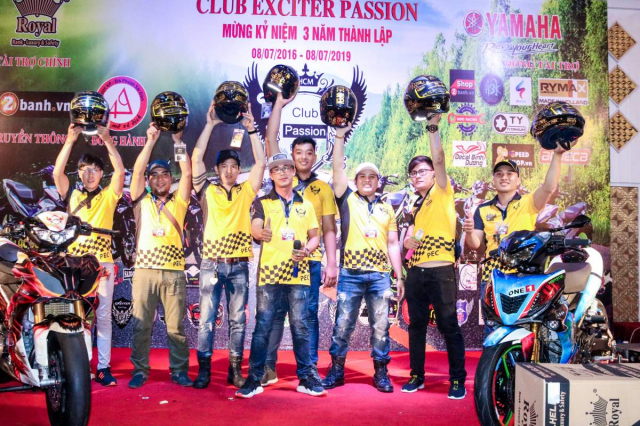 Club Exciter Passion 3 nam mot chang duong voi dong xe Yamaha Exciter - 40