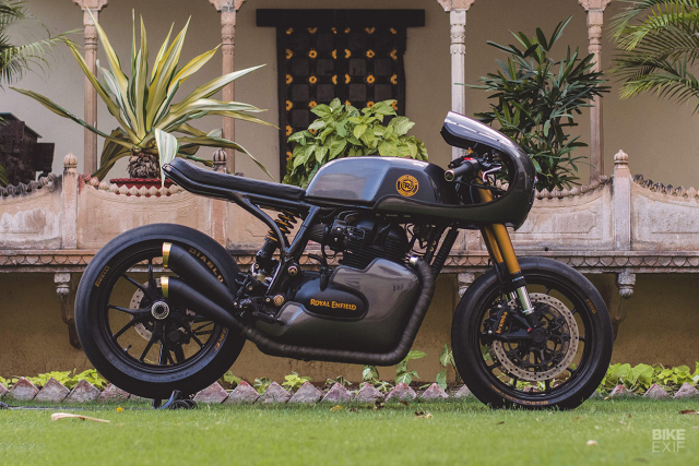 Royal Enfield Continental GT 650 do an tuong voi phong cach Cafe Racer manh me