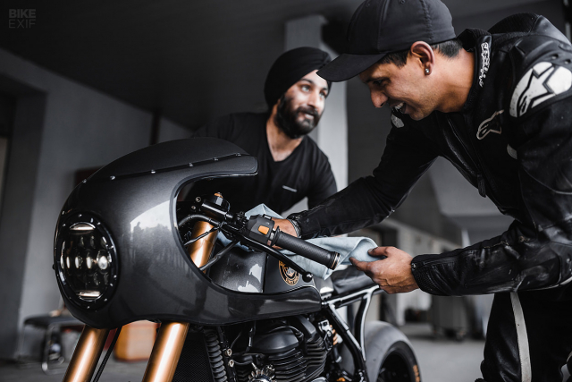 Royal Enfield Continental GT 650 do an tuong voi phong cach Cafe Racer manh me - 8