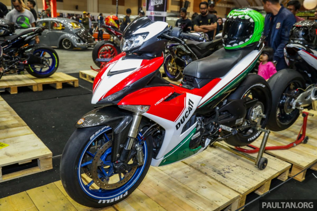 Exciter 150 lot xac sieu doc voi phong cach Ducati Panigale Final Edition - 7